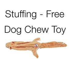 """New Squirrel Critter Stuffing-Free Dog Toy 2 Squeakers 22"""" Long Dogs All Sizes"""