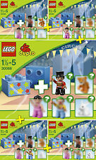 LEGO DUPLO #30066 - Le Cirque / Circus - LOT 5 Sets - Collector 2013 - NEW