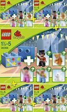 LEGO DUPLO #30066 - Le Cirque / Circus - LOT 5 Sets - Collector 2013 - NEW