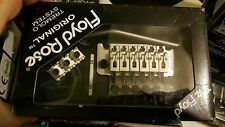 German Floyd Rose Original Left-Handed Tremolo SATIN PEARL  L2 Nut NEW IN BOX