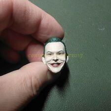 """Painted Servic 1/12 Joker Jack Napier Nicholson Head Sculpt for 6"""" Figure Mez"""