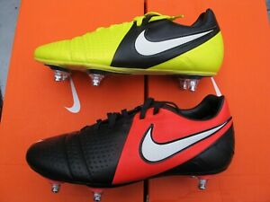 NIKE CTR360 / VICTORY JNR Football Boots STUDS SG GREEN BLACK RED YELLOW 1 5.5