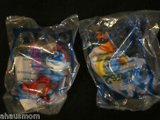MCDONALD HAPPY MEAL THE SMURFS 2 MOVIE 2013 #1 PAPA  #2 SMURFETTE  BNIP!