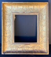 Antique frame carved and gilt wood good quality & fabulous