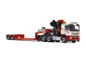 "Mercedes Actros MP3 palfinger crane+low loader""S.E. Levage""WSI trucks 01-3317"