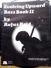 RUFUS REID EVOLVING UPWARD BASS BOOK 2 / DOUBLE BASS METHOD 1977 MYRIAD LIMITED