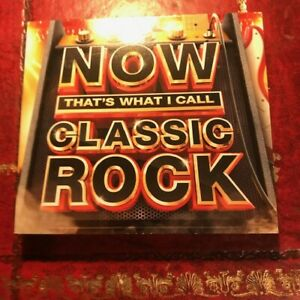 Now Thats What I Call CLASSIC ROCK Music (3 CD SET) Queen U2 etc (HIT SONGS)