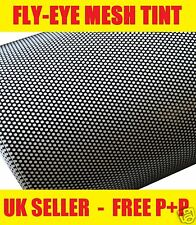 180cm x 106cm Headlight Fly-Eye Mesh Perforated Tinting MOT Legal Self Adhesive
