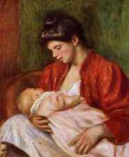 Young Mother 1898 Private Collection A3 Box Canvas