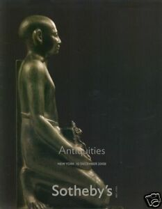 Sotheby's Catalogue Antiquities 10/12/2008  HB