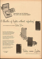"1940's Vintage ad for Parker  ""51"" Faminaire Lighter several styles (042614)"