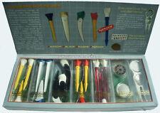 GOLF PRO High-Impact Rubber TEES #4 ARROW TEE Divot Tools Ball Marker Patriot