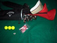 Ladies Callaway GES Golf Set Graphite Woods Irons Putter Bag RH Starter Set Bag