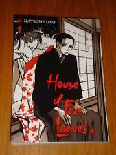 HOUSE OF FIVE LEAVES VOL 1 VIZ MEDIA IKKI COMIX NATSUME ONO MANGA GRAPHIC NOVEL
