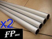 ( Lot de 2 ) Tube Aluminium Ø20mm Epaisseur 1mm Longueur 1 mètre