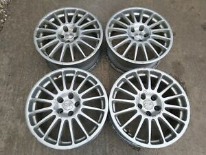 "Oz racing 18"" alloy wheels 5x114.3 Mitsubishi  evo Nissan 200sx skyline s14 s15"