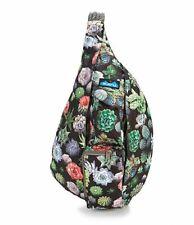 KAVU Womens Rope Bag Greenhouse Backpack 944-856 Sling Travel Cactus NWT