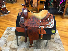 """15.5"""" BILLY COOK WESTERN PLEASURE/ SHOW SADDLE"""