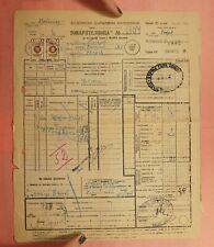 Dr Who 1946 Bulgaria Revenue Document L168071
