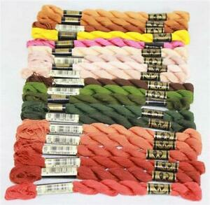 DMC Perle Cotton Embroidery Floss Size 5 Assorted Colors of Color Series 900