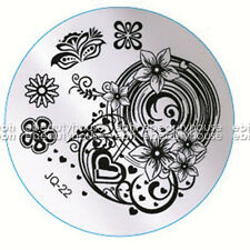 New Design DIY Nail Art Image Stamp Stamping Plates Manicure Template #JQ-22