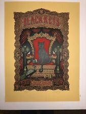 The Black Keys Marq Spusta Poster Oakland 2010 Signed Numbered Silkscreen