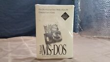 NEW  Microsoft MS DOS 6.2 SEALED