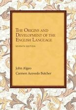 The Origins and Development of English Language by John Algeo and Carmen A....