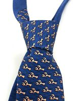 Mens Tommy Hilfiger Tie with Lobster Print 100% Silk