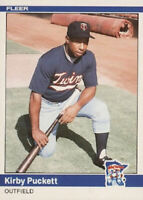 REFRIGERATOR MAGNET 1984 Fleer Update Kirby Puckett Rookie Card Minnesota Twins