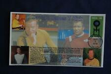 "Star Trek Enterprise 47c Stamp Fdc Bullfrog ""Captain Kirk"" Cachet Sc#5134 11553A"