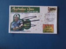 2005 Australian Open Centenary Tennis Ses Pstamp Cover Signed G. Coria