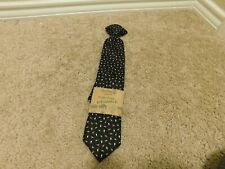 Brand new Wembley Washable kid proof Black with Christmas bulbs boys tie