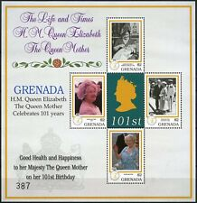Grenada 2001 SG#3846ab Queen Mothers 101st Birthday MNH Sheetlet #D75011