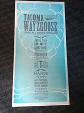 New ListingWayzgoose Letterpress Poster—Tacoma—Graphic Design Typography Type Printing Arts