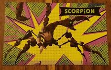 Odeon Spider-Man Into The spider-verse odeon promo Card :  1/12 Scorpion