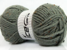 Wool Tweed Skein Crocheting & Knitting Yarns