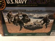 """U. S. Navy Seals Diving Team - 3 3/4"""" Posable Figures with Driving Gear Ages 4+"""