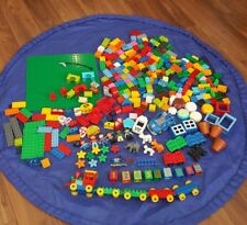 Huge Job Lot Lego Duplo Bundle Trains, Cars, Zoo Animals, People, Plants, Number