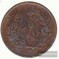 Portugal KM-No.: 533 1891 A EBC Bronce EBC 1891 20 Rey Carlos I.