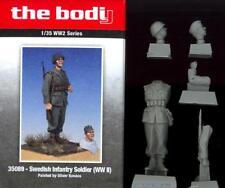 The Bodi Figures 1/35 WORLD WAR II SWEDISH INFANTRY SOLDIER Resin Figure