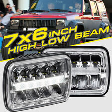 2X 7x6 5x7 LED Headlight HID Light Bulbs High Low Sealed Beam for Toyota Tacoma