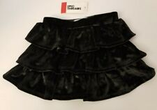 Epic Threads Size 2T Three-Tiered Black Velvet Skirt