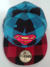 New Era 59Fifty Superman Plaid Fitted Hat-New Old Stock - 7 - 2009