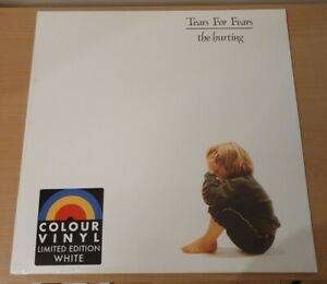 Tears For Fears - The Hurting - Uk White Coloured Vinyl.  New Sealed