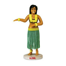 "Dancing Hula Girl Dashboard Figure 5"" Bobblehead Hawaii Car Accessory Gag"