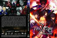 Fate/Zero (Chapter 1 - 25 End) ~ 2-DVD SET ~ English Dub Version ~ Anime