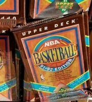 6 SEALED PACKS 91-92 UPPER DECK NBA BASKETBALL CARDS POSSIBLE JORDAN HIGH SERIES