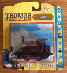 2000 ERTL Thomas Train Diecast Metal Magic Railroad Lady! NEW!