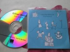 Gillian Welch ‎– Soul Journey WEA Records 10 track Promo UK  CD Album